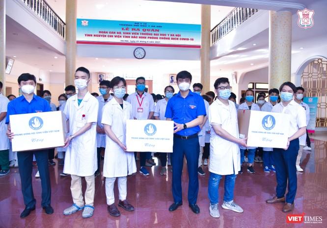 Lần thứ 3 trong 10 ngày, Trường Đại học Y Hà Nội đưa cán bộ, sinh viên chi viện tâm dịch Bắc Ninh ảnh 7