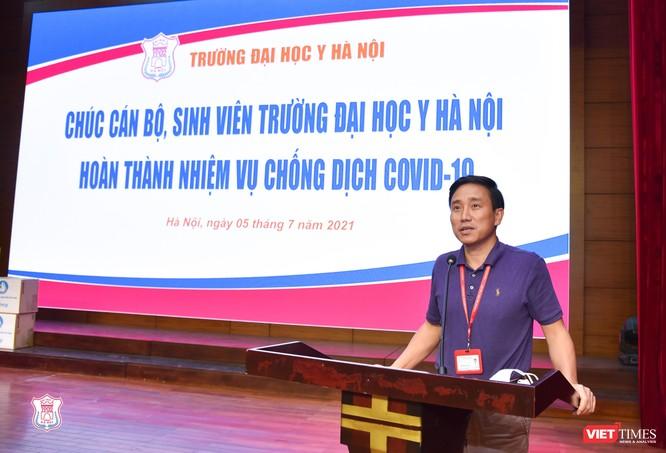350 cán bộ, sinh viên tình nguyện của Trường Đại học Y Hà Nội vào Bình Dương hỗ trợ chống dịch ảnh 4