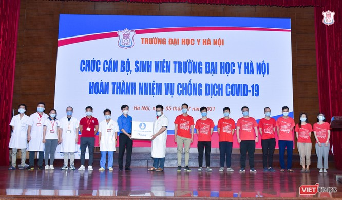 350 cán bộ, sinh viên tình nguyện của Trường Đại học Y Hà Nội vào Bình Dương hỗ trợ chống dịch ảnh 3