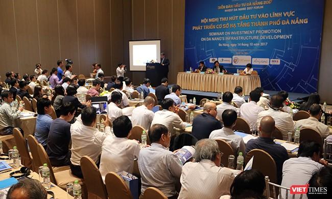 Chiều ngày 14/10, UBND TP Đà Nẵng phối hợp với Bộ KH-ĐT tổ chức Hội nghị chuyên đề thu hút đầu tư vào lĩnh vực phát triển cơ sở hạ tầng TP.