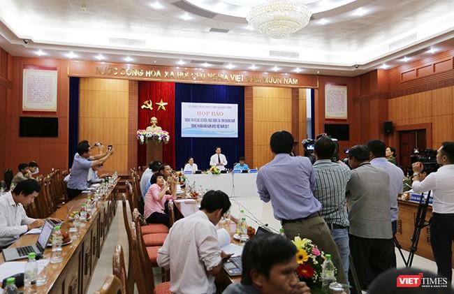 Sáng 17/10, UBND tỉnh Quảng Nam tổ chức Họp báo công bố thông tin các sự kiện, hoạt động tại địa phương trong khuôn khổ Năm APEC 2017 diễn ra tại Quảng Nam