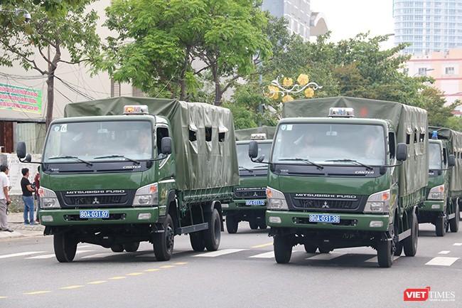Hơn 2.000 cảnh sát diễn tập chống khủng bố bảo vệ APEC tại Đà Nẵng ảnh 8