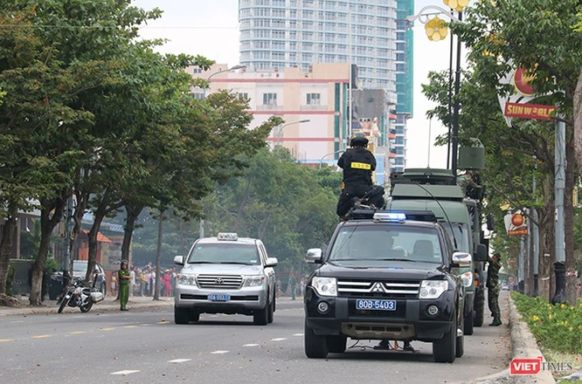 Hơn 2.000 cảnh sát diễn tập chống khủng bố bảo vệ APEC tại Đà Nẵng ảnh 25