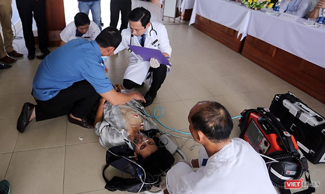 Đà Nẵng diễn tập y tế ứng phó cấp cứu phục vụ APEC ảnh 16
