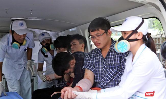Đà Nẵng diễn tập y tế ứng phó cấp cứu phục vụ APEC ảnh 19