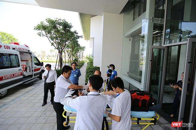 Đà Nẵng diễn tập y tế ứng phó cấp cứu phục vụ APEC ảnh 3