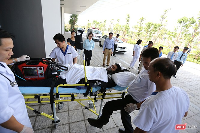 Đà Nẵng diễn tập y tế ứng phó cấp cứu phục vụ APEC ảnh 7