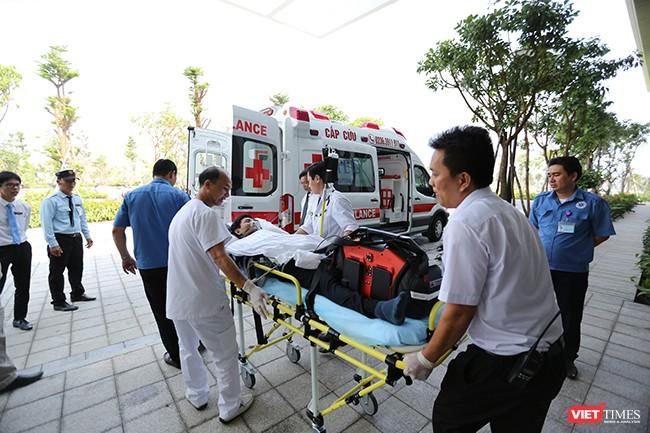 Đà Nẵng diễn tập y tế ứng phó cấp cứu phục vụ APEC ảnh 8