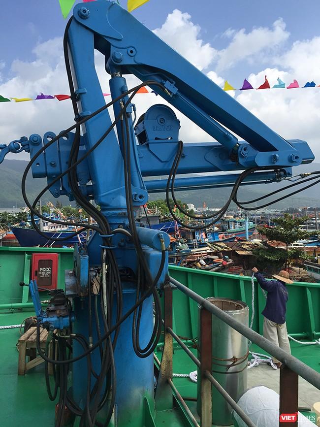 Đà Nẵng: Hạ thủy tàu dịch vụ hậu cần nghề cá vỏ thép lớn nhất miền Trung ảnh 5