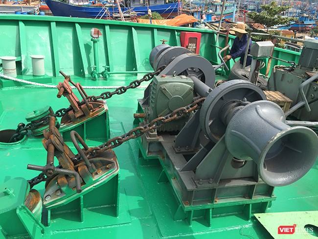 Đà Nẵng: Hạ thủy tàu dịch vụ hậu cần nghề cá vỏ thép lớn nhất miền Trung ảnh 6