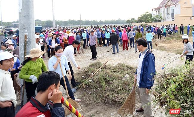 Đà Nẵng: Toàn TP ra quân làm vệ sinh môi trường đón APEC ảnh 4