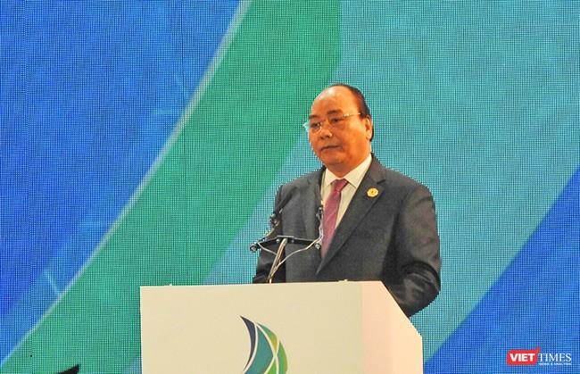 Thủ tướng Chính phủ Nguyễn Xuân Phúc phát biểu khai mạc Hội nghị VBS