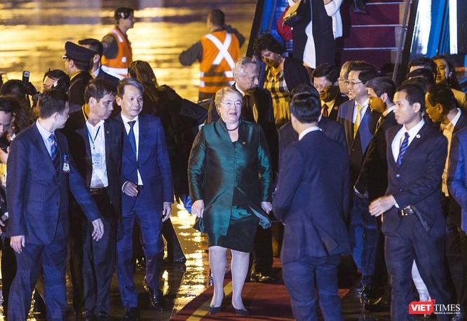 Ảnh: Nữ Tổng thống Chile Michelle Bachelet đã có mặt tại Đà Nẵng ảnh 5