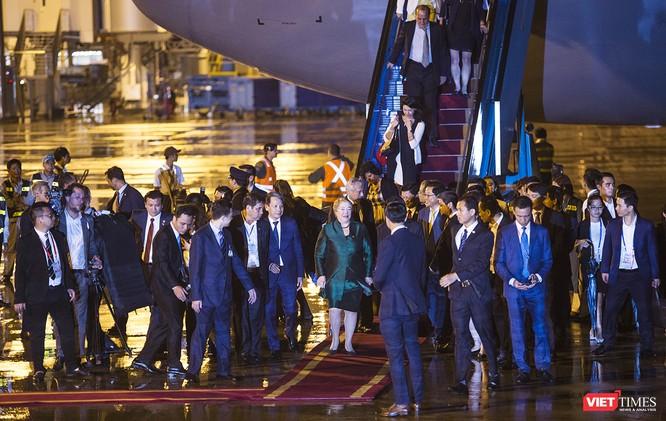 Ảnh: Nữ Tổng thống Chile Michelle Bachelet đã có mặt tại Đà Nẵng ảnh 4