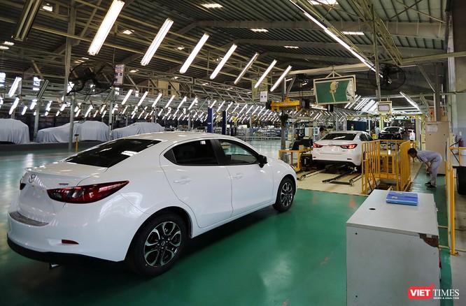 Và trước khi được lăn bánh, Mazda CX-5 phải trải qua các công đoạn kiểm định tiêu chuẩn của Vinamazda