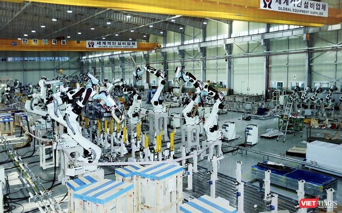 Cận cảnh thi công nhà máy sản xuất ô tô Mazda 12.000 tỷ của Thaco ảnh 13
