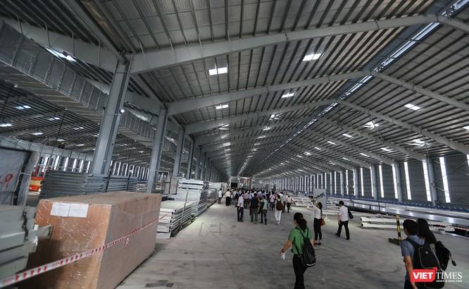 Cận cảnh thi công nhà máy sản xuất ô tô Mazda 12.000 tỷ của Thaco ảnh 16
