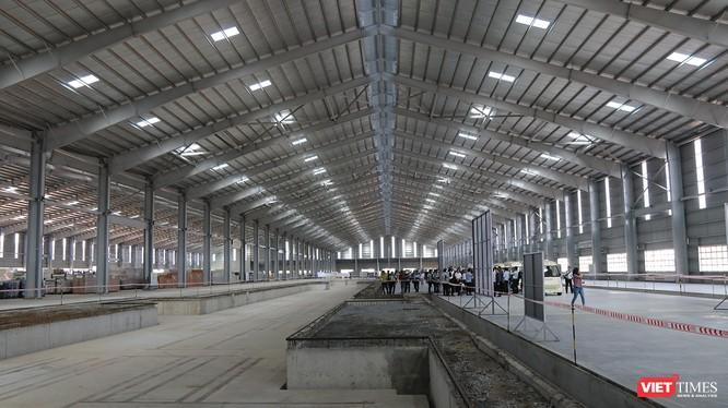 Cận cảnh thi công nhà máy sản xuất ô tô Mazda 12.000 tỷ của Thaco ảnh 21
