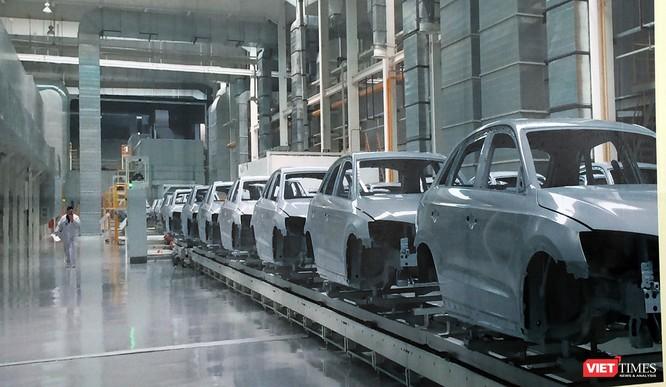Cận cảnh thi công nhà máy sản xuất ô tô Mazda 12.000 tỷ của Thaco ảnh 23