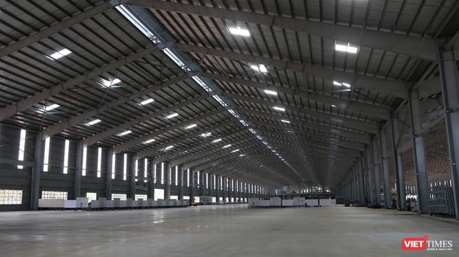 Cận cảnh thi công nhà máy sản xuất ô tô Mazda 12.000 tỷ của Thaco ảnh 3