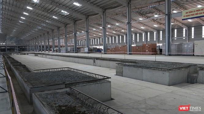 Cận cảnh thi công nhà máy sản xuất ô tô Mazda 12.000 tỷ của Thaco ảnh 8