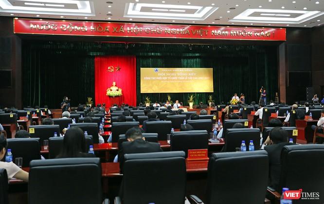 Chiều 21/11, Thành ủy Đà Nẵng đã tổ chức Hội nghị tổng kết Công tác phối hợp tổ chức Tuần lễ cấp cao APEC 2017 diễn ra từ ngày 6/11-11/11/2017 tại Đà Nẵng