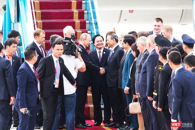 Lãnh đạo Đà Nẵng trong chuyến đón Tổng thống Nga Putin đến tham dự Tuần lễ cấp cao APEC 2017 diễn ra tại Đà Nẵng