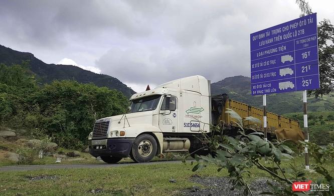 Cơ quan chức năng vẫn chưa biết sự xuất hiện của đoàn xe chở Alumin trên tuyến quốc lộ này