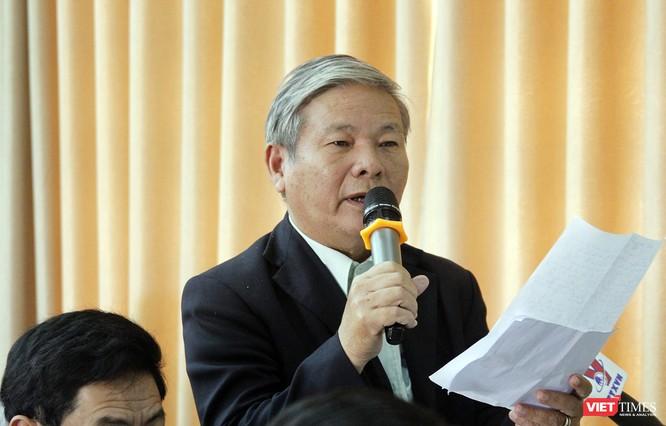 Cử tri quận Sơn Trà chia sẻ những nội dung quan trọng với Đoàn đại biểu Quốc hội