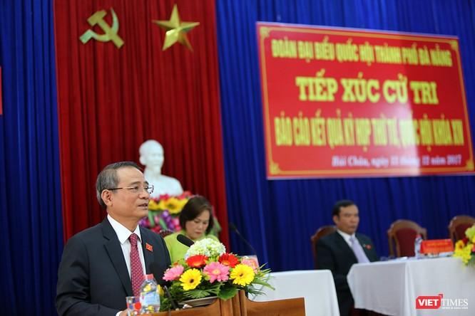 Theo Bí thư Đà Nẵng Trường Quang Nghĩa, quan điểm lãnh đạo của Đà Nẵng là công khai, minh bạch và lắng nghe ý kiến của cử tri và các tổ chức