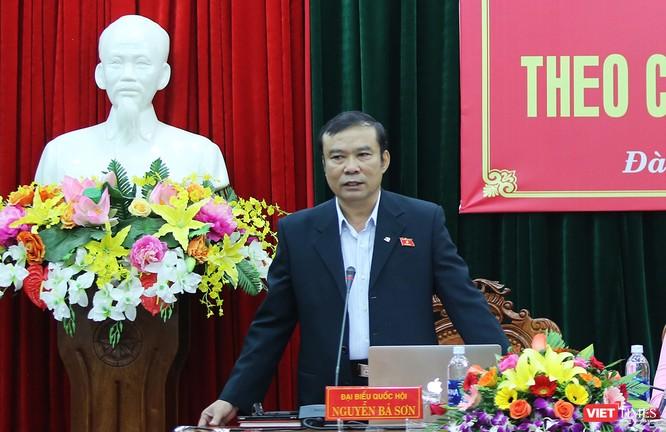 Theo ông Nguyễn Bá Sơn cho rằng, pháp luật không hạn chế quyền và lợi ích của quyền lợi của công dân và công dân có quyền khởi kiện