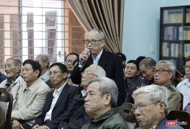 Các lão thành cách mạng bày tỏ ý kiến về các vấn đề xảy ra tại Đà Nẵng trong thời gian qua