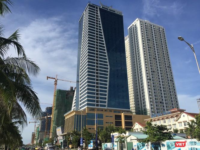 Dự án Khu tổ hợp khách sạn và căn hộ chung cư cao cấp Mường Thanh Sơn Trà trên địa bàn quận Ngũ Hành Sơn xây dựng sai phép nghiêm trọng