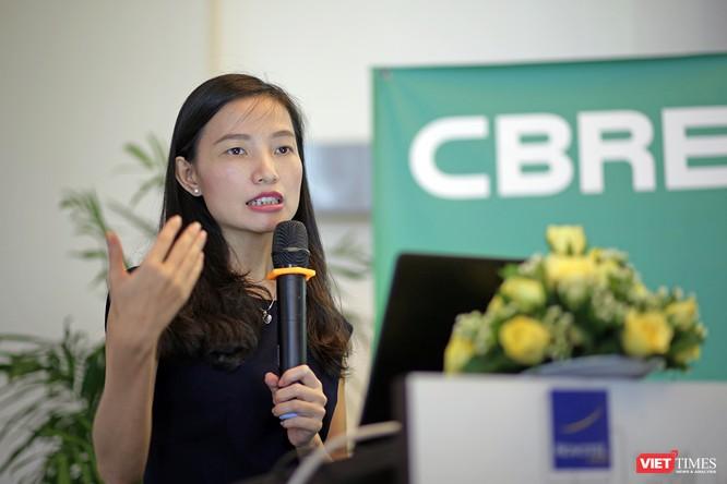 Bà Dương Thùy Dung, Giám đốc Cấp cao, Trưởng phòng Định giá-Nghiên cứu thị trường và Tư vấn phát triển của CBRE Việt Nam