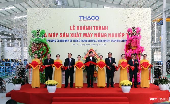 Sáng 21/2 (tức Mùng 6 Tết Mậu Tuất), tại Khu phức hợp cơ khí ô tô Chu Lai-Trường Hải thuộc Khu KTM Chu Lai, tỉnh Quảng Nam, Công ty Cổ phần Ô tô Trường Hải (THACO) đã tổ chức lễ khánh thành Nhà máy sản xuất Máy nông nghiệp Thaco.