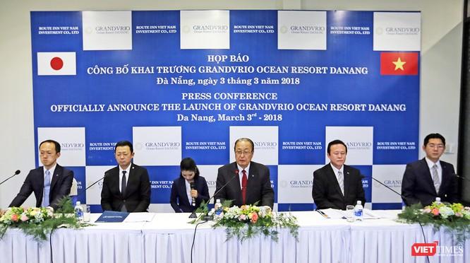 Chiều 3/3, tại Quảng Nam, Tập đoàn Du lịch hàng đầu Nhật Bản Route Inn Group đã tổ chức Họp báo, chính thức đưa Khu nghỉ dưỡng Grandvrio Ocean Resort Da Nang