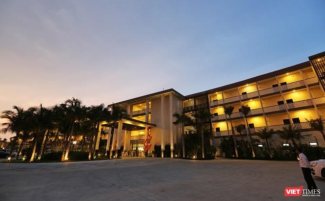 Khu nghỉ dưỡng được thiết kế theo phong cách Nhật Bản và chất lượng dịch vụ tiêu chuẩn 5 sao