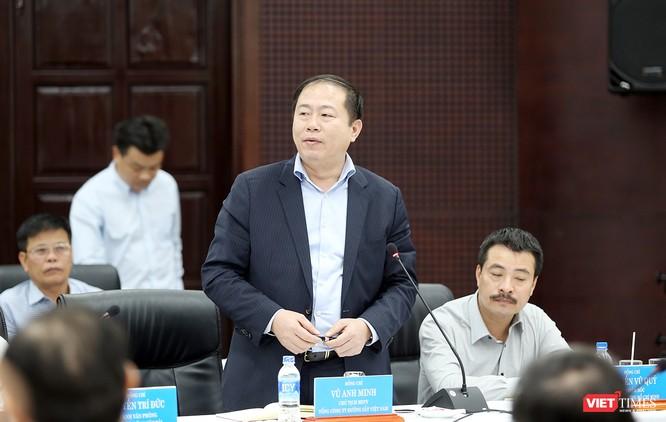 ông Vũ Anh Minh, Chủ tịch HĐTV Tổng Công ty Đường sắt Việt Nam