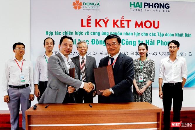 Đại học Đông Á và Công ty CP Đầu tư TM&XD Hải Phong đã chính thức ký kết hợp tác cung ứng nguồn nhân lực cho các tập đoàn của Nhật Bản, giúp sinh viên Việt Nam có thêm cơ hội việc làm tại Nhật Bản