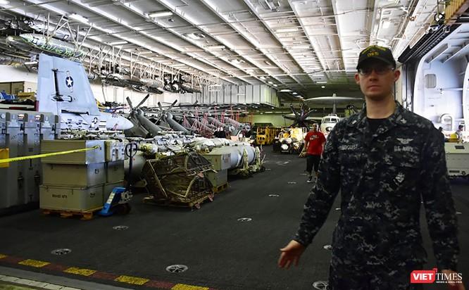 Toàn cảnh chuyến thăm lịch sử của đội tàu sân bay USS Carl Vinson ở Đà Nẵng ảnh 28