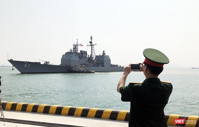 Toàn cảnh chuyến thăm lịch sử của đội tàu sân bay USS Carl Vinson ở Đà Nẵng ảnh 13
