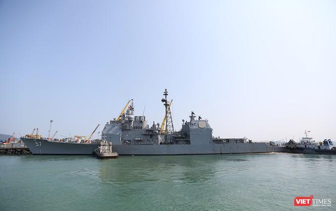 Toàn cảnh chuyến thăm lịch sử của đội tàu sân bay USS Carl Vinson ở Đà Nẵng ảnh 14