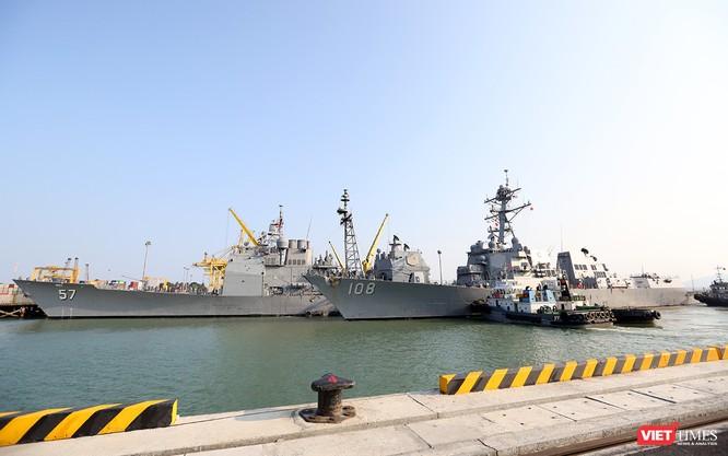 Toàn cảnh chuyến thăm lịch sử của đội tàu sân bay USS Carl Vinson ở Đà Nẵng ảnh 17