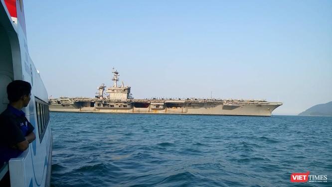 Toàn cảnh chuyến thăm lịch sử của đội tàu sân bay USS Carl Vinson ở Đà Nẵng ảnh 23