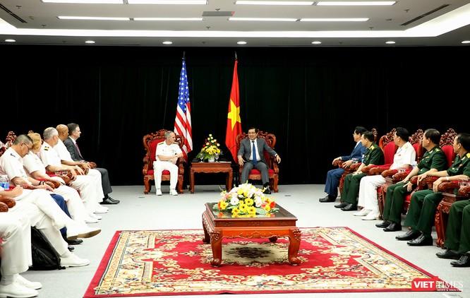 Chào xã giao Chủ tịch UBND TP Đà Nẵng