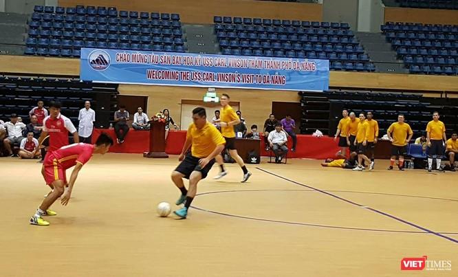 Tham gia thi đấu thể thao với các lực lượng tại Đà Nẵng