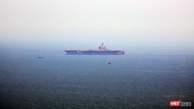 Toàn cảnh chuyến thăm lịch sử của đội tàu sân bay USS Carl Vinson ở Đà Nẵng ảnh 6