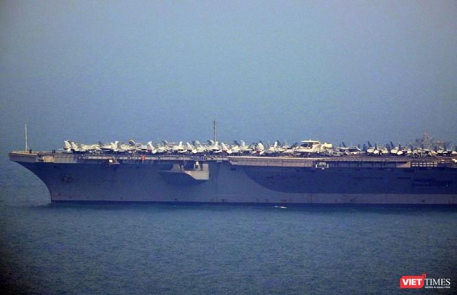 Toàn cảnh chuyến thăm lịch sử của đội tàu sân bay USS Carl Vinson ở Đà Nẵng ảnh 7