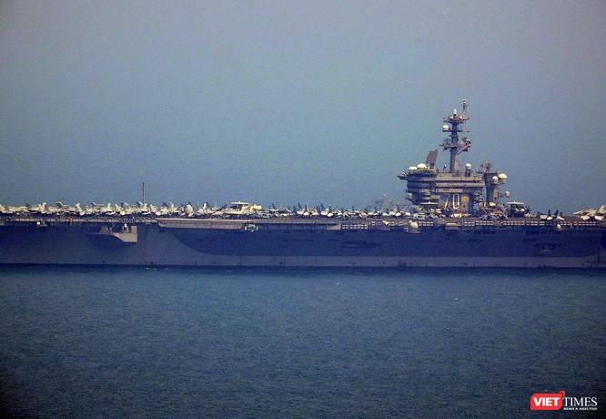 Toàn cảnh chuyến thăm lịch sử của đội tàu sân bay USS Carl Vinson ở Đà Nẵng ảnh 8