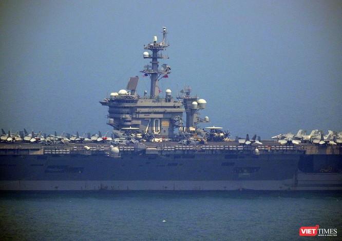 Toàn cảnh chuyến thăm lịch sử của đội tàu sân bay USS Carl Vinson ở Đà Nẵng ảnh 9
